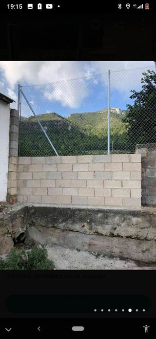 cerramiento de valla metalica