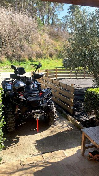 ATV LINHAI SEMINUEVO CON GARANTIA 500