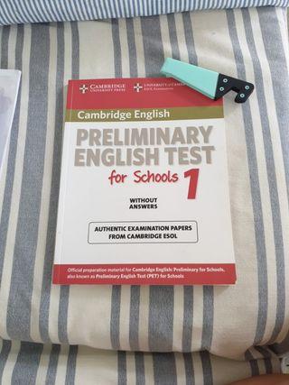 Preliminar y English test