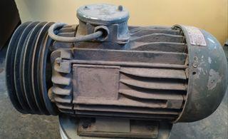 Motor electri a correa
