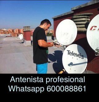 Instalador antenas reparación instalación