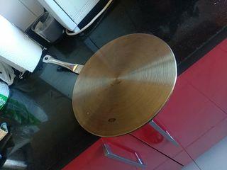Acople de acero para placas de inducción