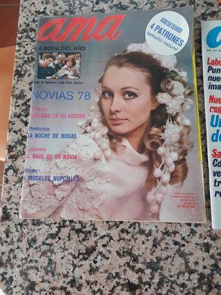 Revista con patrones Ama