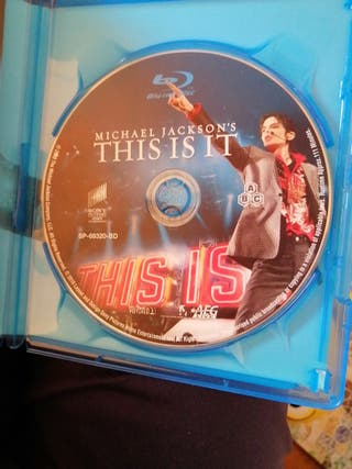 Michael Jackson blue ray this is it