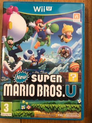 Super Mario Bro's Wii U