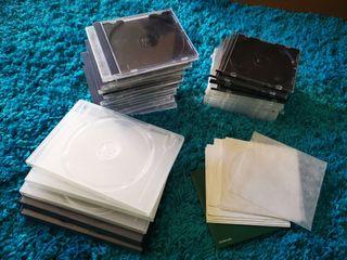 Cajas vacías para CD, DVD o BluRay