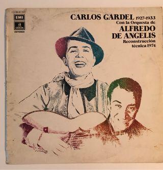 CARLOS GARDEL Disco Vinilo LP