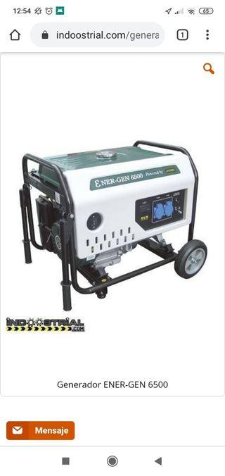Generador ENER-GEN 6500 | 5.500 W