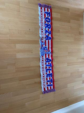 Bufanda del equipo de fútbol Atlético de Madrid