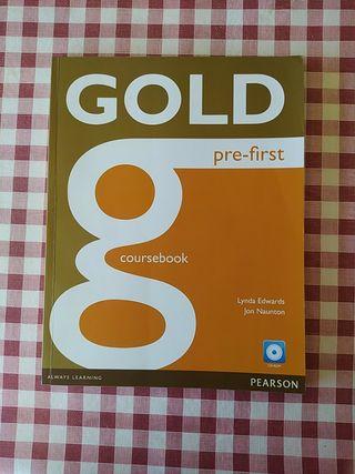 Gold pre first -libro ingles