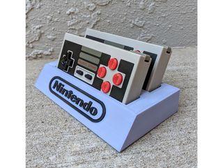 Soporte mandos NES personalizado