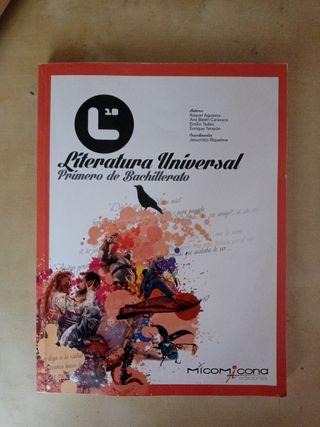 Libro literatura universal 1° de Bachillerato