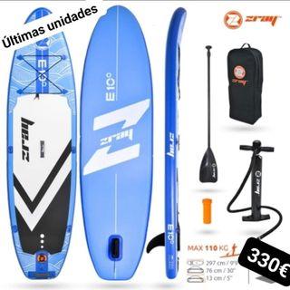 Tabla hinchable paddle surf ZRAY E10