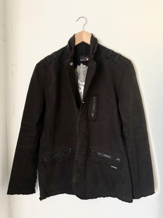 Chaqueta Quicksilver negra con forro interior