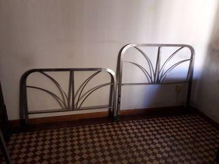 cama de niquel - 105 cm