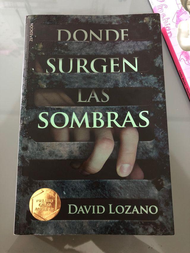 Libro Donde Surgen Las Sombras De David Lozano De Segunda Mano Por 7 En Moralet En Wallapop