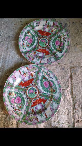 Platos Macao antiguos