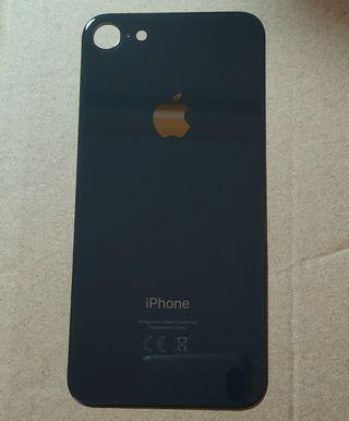 Tapa trasera iPhone 8 Negra