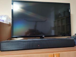 """TV JVC led de 32"""" + barra de sonido LG"""