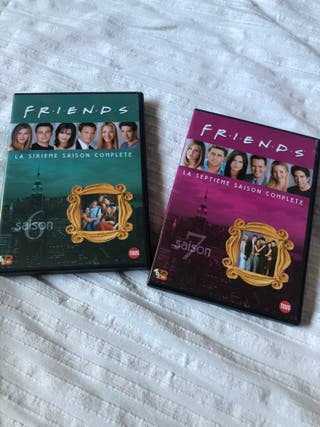 DVD Friends temporadas 1 -7