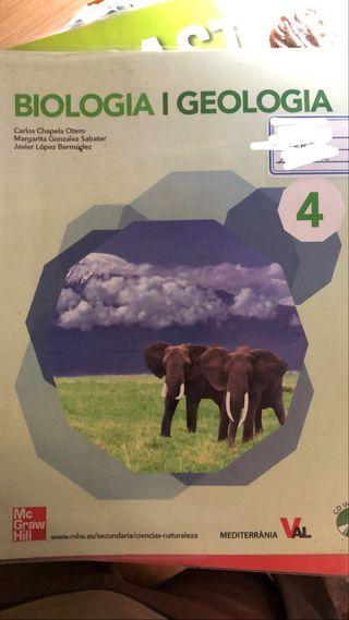 Libro Biologia i Geologia 4 ESO