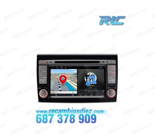"RADIO GPS FIAT BRAVO TÁCTIL 7"" ANDROID 8.1 BLUETOO"