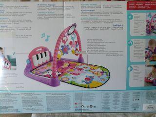gimnasio _piano pataditas fisher price