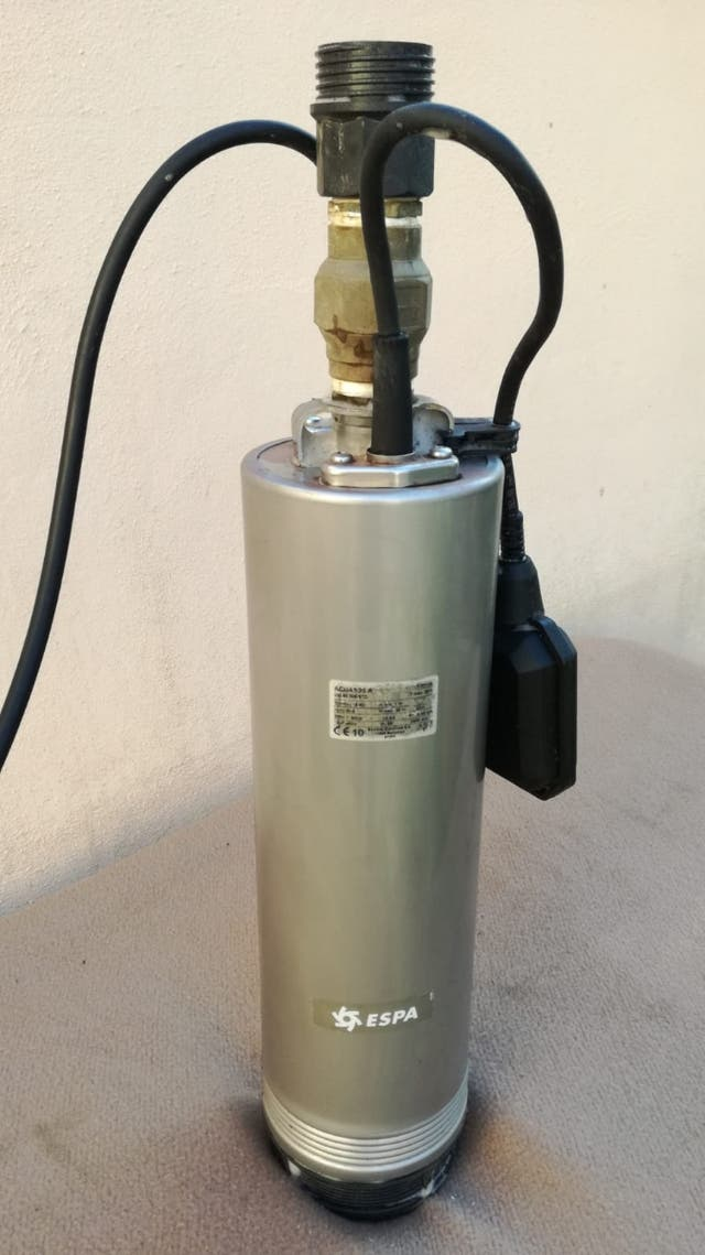 Bomba de agua espa