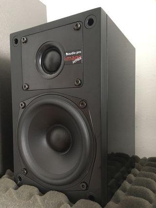 2 altavoces audio pro