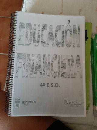 4°ESO. EDUCACIÓN FINANCIERA