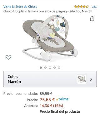 Hamaca con arco Hoopla marca Chico