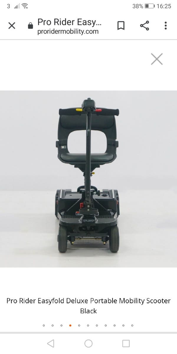mobility scooter pro rider (NEW)