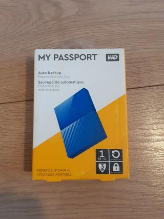 Disco duro portátil 1TB Western Digital