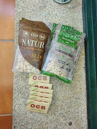 Papel y filtros organicos