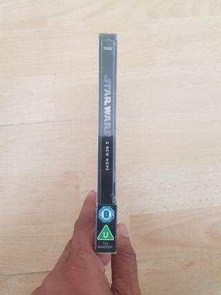 Star Wars EP IV Blu Ray STEELBOOK 4K ULTRA HD