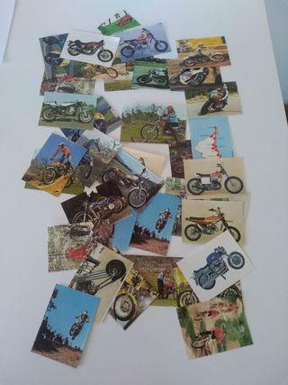cromos Bimbo motos años 70