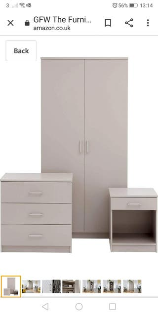 bedroom furniture set (NEW)