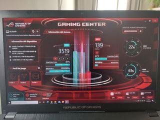 Gaming laptop portátil ASUS ROG GL753V