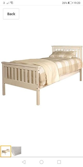 3ft single bed frame (NEW)