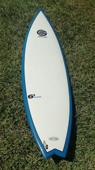 ocasión tabla surf 6.3 santa cruz epoxy