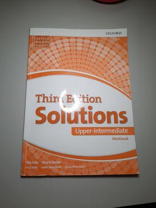 Oxford Solutions workbook