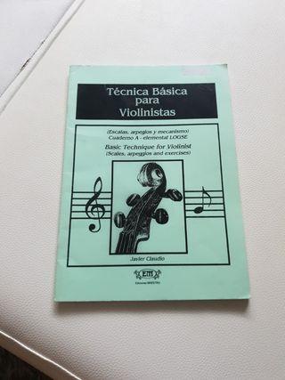Técnica Básica para violinistas