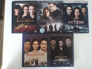 Saga Crepúsculo completa DVD