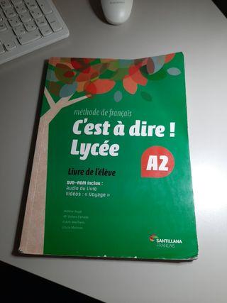C'est á dire libro francés