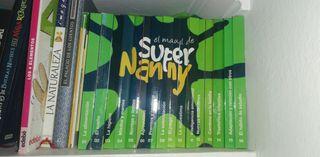 """Colección completa de libros """"Súper Nanny"""""""