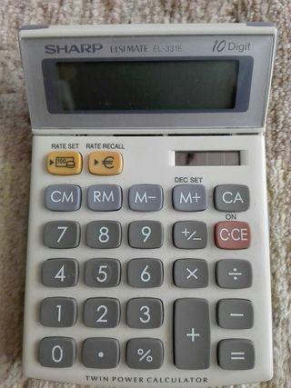 Calculadora Sharp de 10 dígitos