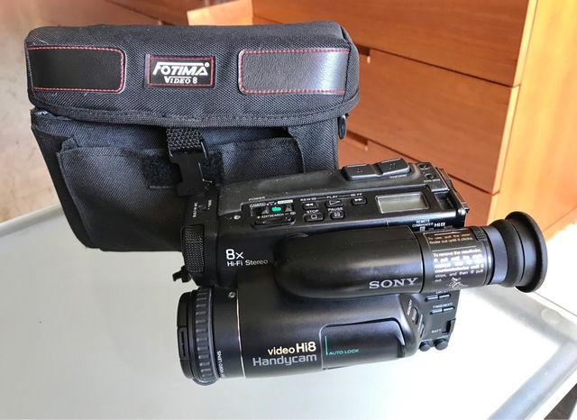 Vídeocámara Hi.8mm. Decoración colección