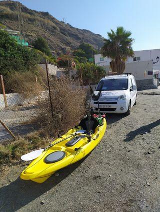 kayak valdes pesca