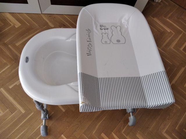 Bañera cambiador. Perfecta para utilizar sobre la