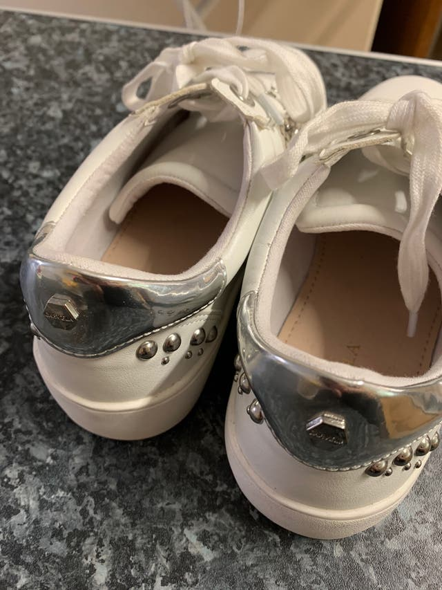 Carvela white trainers